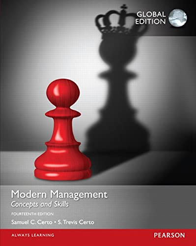 9781292096650: Modern Management: Concepts and Skills