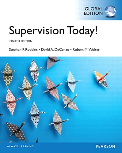 9781292096780: Supervision Today!, Global Edition