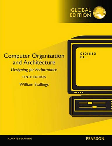9781292096858: Computer Organization and Architecture, Global Edition