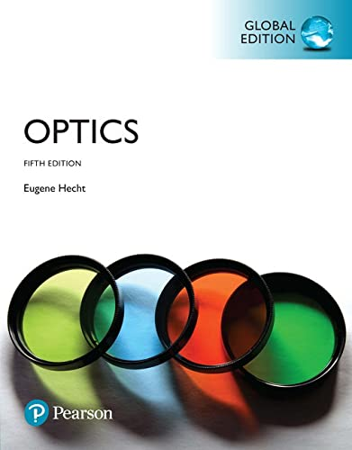 9781292096933: Optics, Global Edition