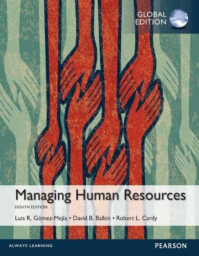 9781292097152: Managing Human Resources, Global Edition
