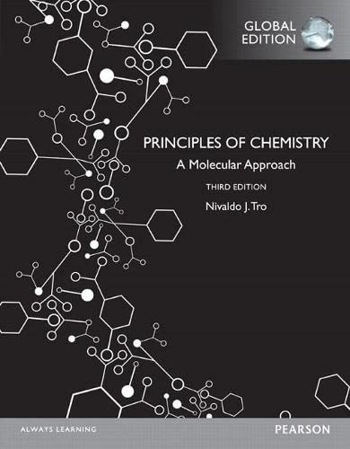 9781292097282: Principles of Chemistry A Molecular Approach, Global Edition