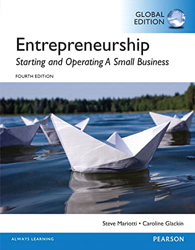 9781292097411: Entrepreneurship: Starting and Operating A Small Business, Global Edition