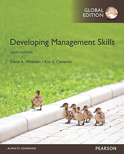9781292097480: Developing Management Skills, Global Edition