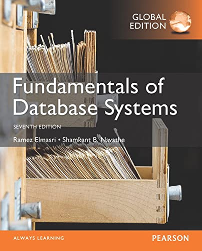 9781292097619: Fundamentals of Database Systems, Global Edition