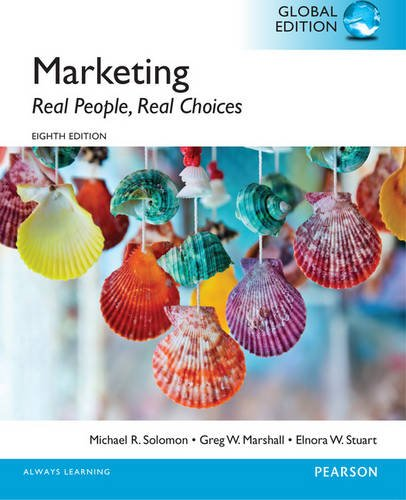 9781292097855: Marketing: Real People, Real Choices with MyMarketingLab, Global Edition