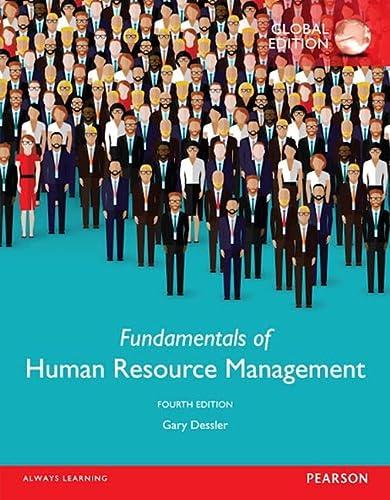 9781292098463: Fundamentals of Human Resource Management, Global Edition