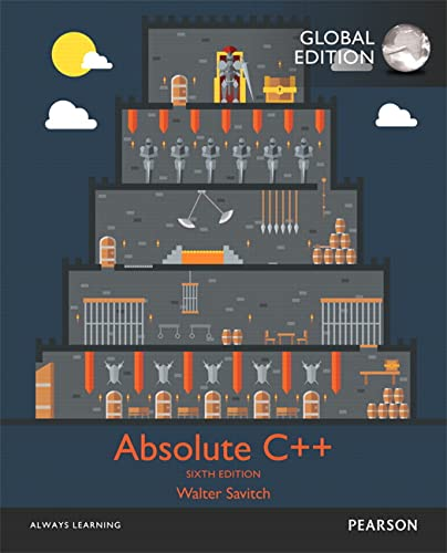 9781292098593: Absolute C++, Global Edition