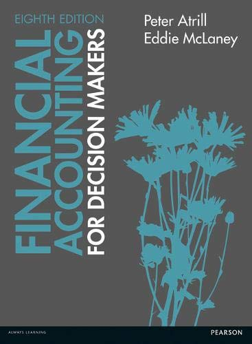Financial accounting for decision makers by atrill abebooks financial accounting for decision makers peter atrill fandeluxe Choice Image