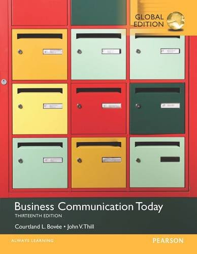 9781292099989: Business Communication Today with MyBCommLab, Global Edition