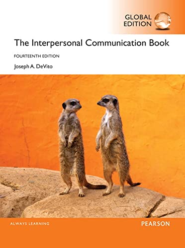 9781292099996: The Interpersonal Communication Book