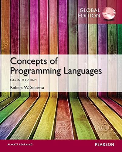 9781292100555: Concepts of Programming Languages
