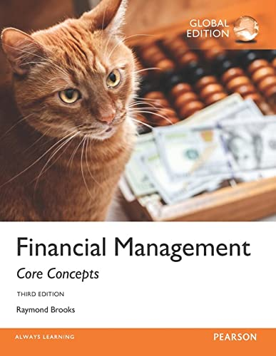 9781292101422: Financial Management Core Concepts, Global Edition