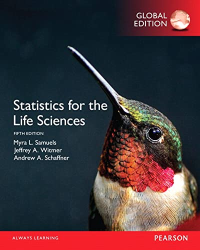 9781292101811: Statistics for the Life Sciences, Global Edition