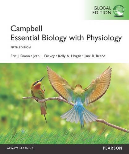 9781292102450: Campbell Essential Biology with Physiology with MasteringBiology, Global Edition