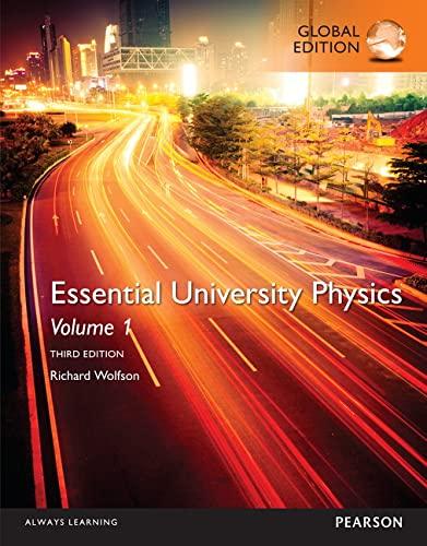 9781292102658: Essential University Physics: Volume 1, Global Edition