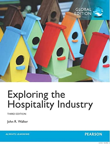 9781292102801: Exploring the Hospitality Industry, Global Edition