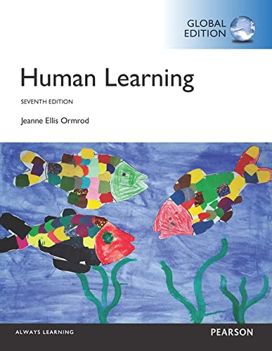 9781292104386: Human Learning, Global Edition