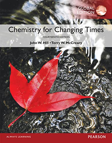 9781292104591: Chemistry For Changing Times, Global Edition