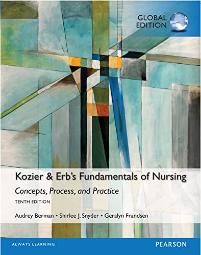 9781292106106: Kozier & Erb's Fundamentals of Nursing