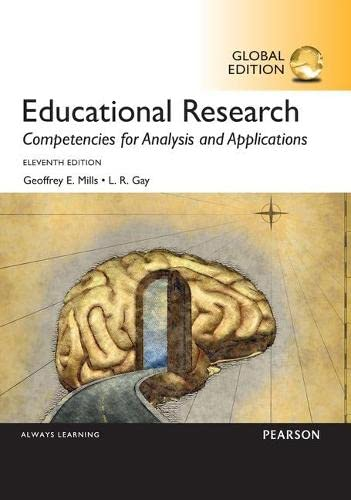9781292106175: Educational Research: Competencies for Analysis and Applications