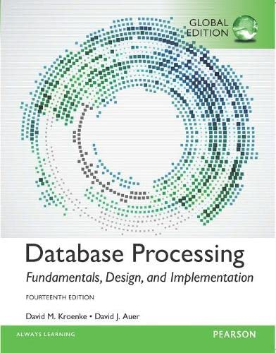 9781292107639: Database Processing: Fundamentals, Design, and Implementation, Global Edition