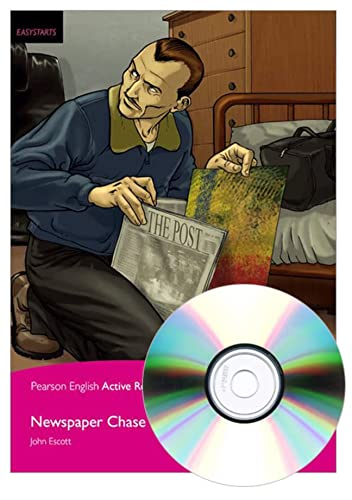 9781292108520: Newspaper Chase, EasyStart, Pearson English Active Readers (2nd Edition) (Pearson English Active Readers, Easystart)
