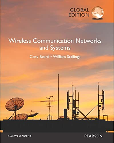 9781292108711: Wireless Communication Networks and Systems, Global Edition