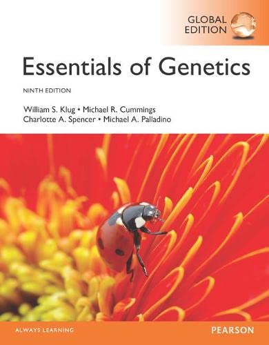9781292108865: Essentials of Genetics