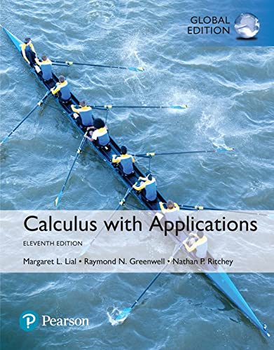 9781292108971: Calculus with Applications, Global Edition