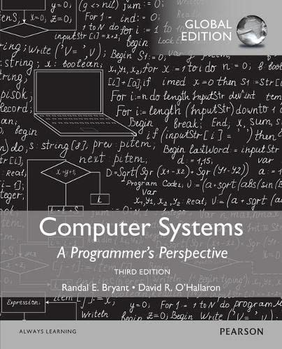 9781292109428: Computer Systems: A Programmer's Perspective with MasteringEngineering, Global Edition