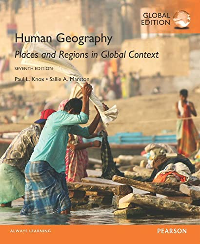 9781292109473: Human Geography Places and Regions in Global Context, Global Edition