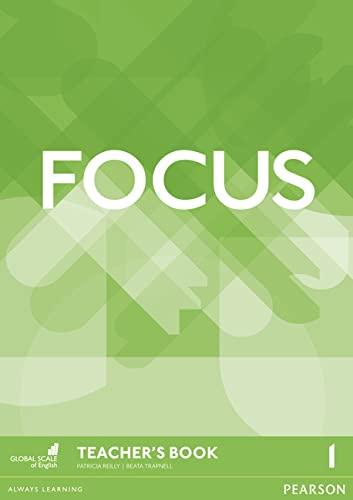 9781292110042: Focus BrE 1 Teacher's Book & MultiROM Pack