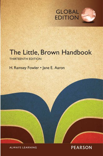 9781292110950: The Little, Brown Handbook with MyWritingLab, Global Edition
