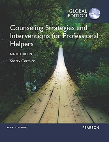 9781292112237: Counseling Strategies and Interventions for Professional Helpers, Global Edition