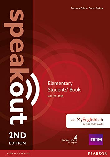 9781292114279: Speakout Elementary 2nd Edition Students' Book for DVD-ROM and MyEnglishLab Pack