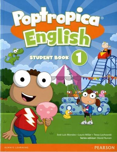 9781292115351: Poptropica English American Edition 1 Student Book & Online World Access Card Pack