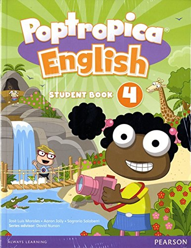 9781292115382: Poptropica English American Edition 4 Student Book & Online World Access Card Pack