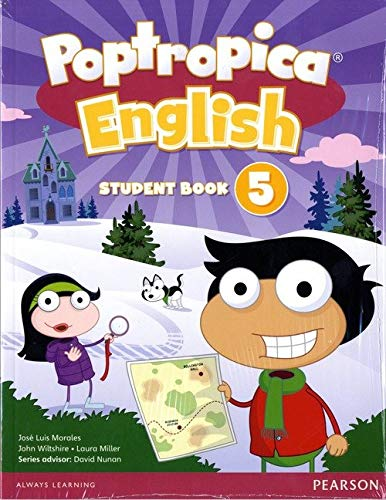 9781292115399: Poptropica English American Edition 5 Student Book & Online World Access Card Pack