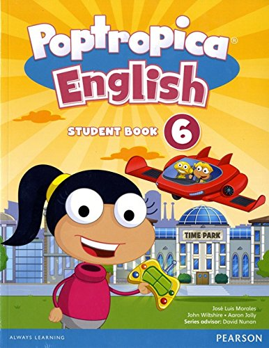 9781292115405: Poptropica English American Edition 6 Student Book & Online World Access Card Pack