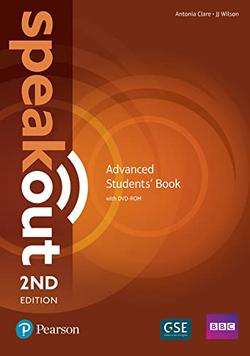 9781292115900: Speakout Advanced 2nd Edition Students' Book and DVD-ROM Pack