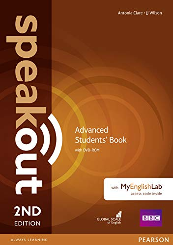 9781292115917: Speakout Advanced Students' Book and MyEnglishLab Access Code Pack