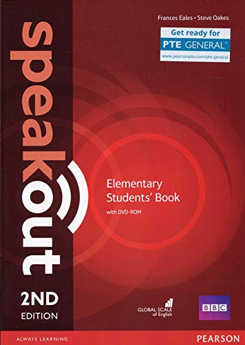 9781292115924: Speakout Elementary 2nd Edition Students' Book and DVD-ROM Pack