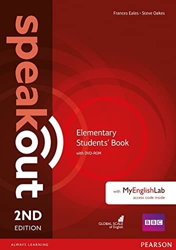 9781292115931: Speakout Elementary 2nd Edition Students' Book with DVD-ROM and MyEnglishLab Access Code Pack