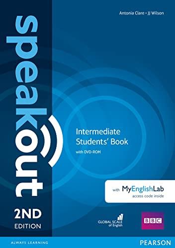 9781292115955: Speakout. Intermediate. Student's book-MyEnglishLab. Per le Scuole superiori. Con DVD-ROM. Con e-book. Con espansione online