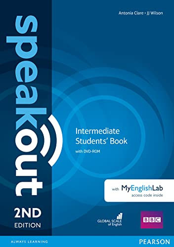 9781292115955: Speakout Intermediate 2nd Edition Students' Book with DVD-ROM and MyEnglishLab Access Code Pack