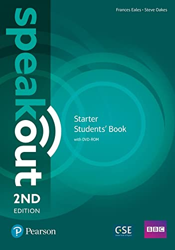 9781292115986: Speakout Starter 2nd Edition Students' Book and DVD-ROM Pack