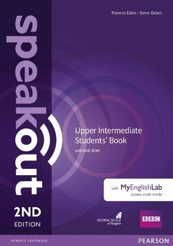 9781292116006: Speakout Upper Intermediate and MyEnglishLab Access Code Pack: Students' Book