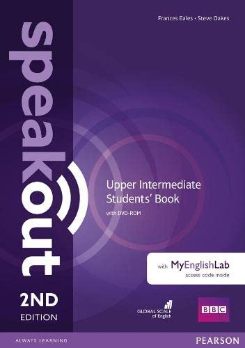 9781292116006: Speakout Upper Intermediate 2nd Edition Students' Book with DVD-ROM and MyEnglishLab Access Code Pack