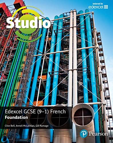 9781292117829: Studio Edexcel GCSE French Foundation Student Book